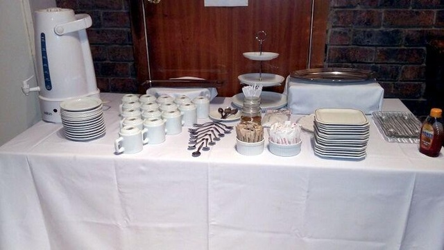 Complimentary tea/coffee station included in the venue hire
